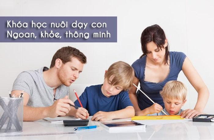 khóa học dạy con đúng cách